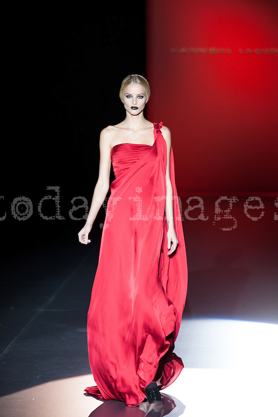 Hannibal Laguna in Mercedes-Benz Fashion Week Madrid 2013