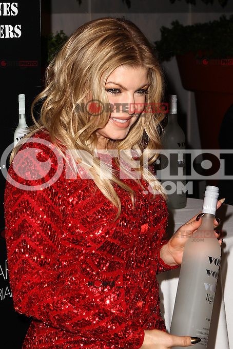 Voli Lights Vodka Benefit With Fergie at SkyBar at the Mondrian on December 6, 2012 in West Hollywood, California. RTNColin/Mediapunchinc /NortePhoto /NortePhoto©