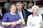 Dinah McKenna, Marian Park and Aggie Clinton, Hand Street with Mayor Sean Collins at the Lord Mayor's Millenium Party in the Bridgeford Leisure Centre..Picture Paul Mohan Newsfile