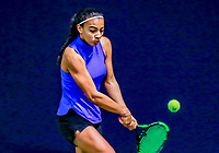 Hilversum, Netherlands, December 3, 2017, Winter Youth Circuit Masters, 12,14,and 16 years, Warda ait el Bachir (NED)<br /> Photo: Tennisimages/Henk Koster