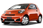 Low aggressive front three quarter view of a 2012 Scion IQ.