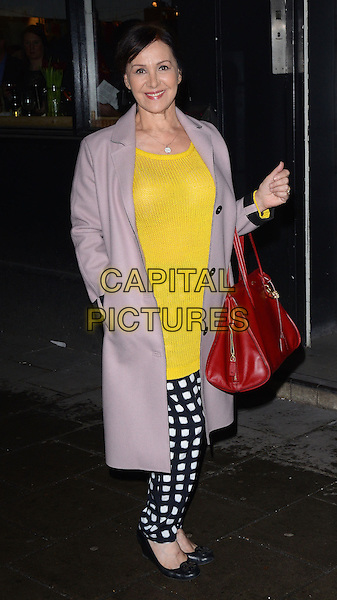LONDON, ENGLAND - FEBRUARY 24: Arlene Phillips attends the Opening Night of 'A to Z of Mrs P' at the Southwark Playhouse on February 24, 2014 in London, England.<br /> CAP/MB/PP<br /> &copy;Michael Ball/PP/Capital Pictures
