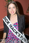 Contestants for the 2009 Kerry Rose selection who met up at the Imperial Hotel, Tralee on Saturday night Chloe Mac Donnell (Dick Macks Bar, Dingle)