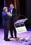 Robert De Niro; Chazz Palminteri during the presentation of the 2013 Actors Fund Annual Gala honoring Robert De Niro at the Mariott Marquis Hotel in New York on 4/29/2013...