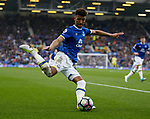 Mason Holgate of Everton in action during the English Premier League match at Goodison Park Stadium, Liverpool. Picture date: April 9th 2017. Pic credit should read: Simon Bellis/Sportimage