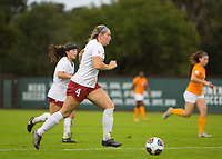 STANFORD, CA - November 23, 2018: Belle Briede at Laird Q. Cagan Stadium. The top seeded Stanford Cardinal defeated the Tennessee Volunteers 2-0 in the Quarterfinal of the NCAA tournament.