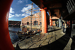 Liverpool Albert Dock - Fisheye