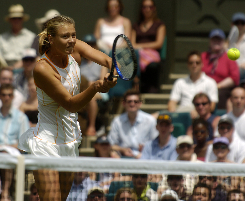 Photo. Jed Wee..Wimbledon Championships. 21/06/2005..Maria Sharapova.