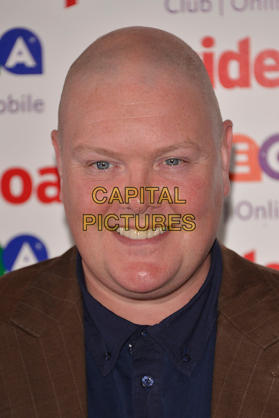 Dominic Brunt<br /> Inside Soap Awards at Ministry Of Sound, London, England.<br /> 21st October 2013<br /> headshot portrait blue shirt brown suit jacket<br /> CAP/PL<br /> &copy;Phil Loftus/Capital Pictures