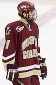 Joe Adams - The Boston University Terriers defeated the Boston College Eagles 2-1 in overtime in the March 18, 2006 Hockey East Final at the TD Banknorth Garden in Boston, MA.