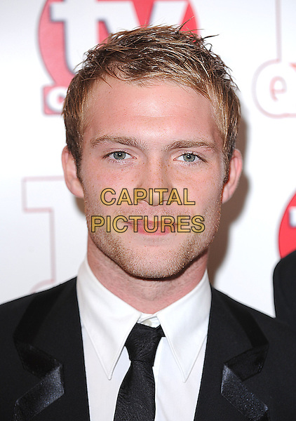 CHRIS FOUNTAIN.The TV Quick & TV Choice Awards, Dorchester Hotel, London, England. .September 7th, 2009 .headshot portrait stubble facial hair black white .CAP/BEL.©Tom Belcher/Capital Pictures.
