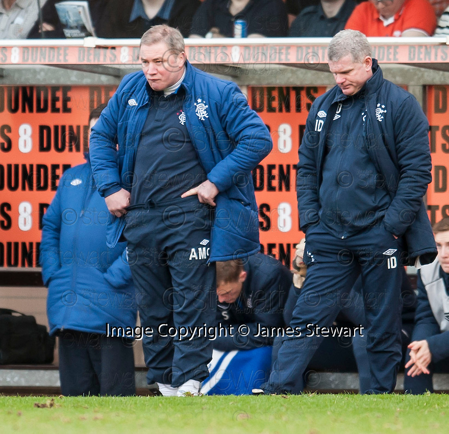 Gers manager Ally McCoist.