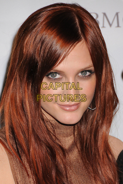 ASHLEE SIMPSON .Clive Davis 2008 Pre-Grammy Awards Party at the Beverly Hilton Hotel, Beverly Hills, California, USA..February 9th, 2008.headshot portrait.CAP/ADM/BP.©Byron Purvis/Admedia/Capital Pictures