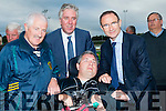 John Delaney (Chief Ex FAI) and Martin O'Neill (manager of the Irish International Team) chats with George (Snr) and George Dineen at the opening of the All Weather Soccer Pitch at Mounthawk Park,Tralee on Wednesday evening.