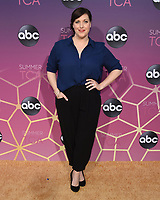 05 August 2019 - West Hollywood, California - Allison Tolman. ABC's TCA Summer Press Tour Carpet Event held at Soho House.   <br /> CAP/ADM/BB<br /> ©BB/ADM/Capital Pictures