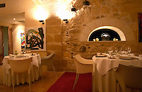 The gourmet Restaurant Le Jardin d'Ausone in the old town in Bordeaux