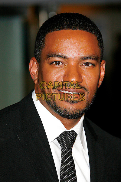 "LAZ ALONSO.Arrivals - World Premiere of ""Avatar"",  Odeon Leicester Square, London, England, UK, December 10th, 2009..portrait headshot black beard facial hair tie soul patch .CAP/DAR.©Darwin/Capital Pictures."