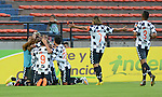 Medellín- Atlético Nacional y Chicó F.C empataron a dos goles en el partido correspondiente a la octava fecha del Torneo Clausura 2014, desarrollado en el estadio Atanasio Girardot.