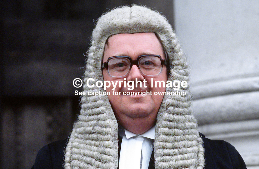 Jeffrey Foote, QC, Barrister, N Ireland, UK, 19850003JF.<br /> <br /> Copyright Image from Victor Patterson, 54 Dorchester Park, Belfast, UK, BT9 6RJ<br /> <br /> t1: +44 28 9066 1296 (from Rep of Ireland 048 9066 1296)<br /> t2: +44 28 9002 2446 (from Rep of Ireland 048 9002 2446)<br /> m: +44 7802 353836<br /> <br /> e1: victorpatterson@me.com<br /> e2: victorpatterson@gmail.com<br /> <br /> The use of my copyright images is subject to my Terms &amp; Conditions.<br /> <br /> It is IMPORTANT that you familiarise yourself with them. They are available on my website at www.victorpatterson.com.<br /> <br /> None of my copyright images may be used on a website unless they are visibly watermarked, i.e. &copy; Victor Patterson within the body of the visible image. Metadata denoting my copyright must NOT be deleted. <br /> <br /> Web use is extra at currently recommended NUJ rates.