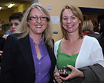 Georgina Floody, Parent and Louise Donohoe, Teacher who are both on the Parent Teacher Association celebrate Drogheda Grammar School's 340 years of education...Photo NEWSFILE/Jenny Matthews.(Photo credit should read Jenny Matthews/NEWSFILE)....This Picture has been sent you under the condtions enclosed by:.Newsfile Ltd..The Studio,.Millmount Abbey,.Drogheda,.Co Meath..Ireland..Tel: +353(0)41-9871240.Fax: +353(0)41-9871260.GSM: +353(0)86-2500958.email: pictures@newsfile.ie.www.newsfile.ie.FTP: 193.120.102.198.