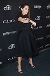 Boy Meets Girl fashion designer Stacy Igel arrives at the 2017 Clio Awards in The Tent at Lincoln Center in New York City on September 27, 2017.