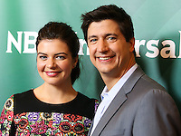 BEVERLY HILLS, CA, USA - JULY 13: Casey Wilson, Ken Marino at the NBCUniversal Summer TCA Tour 2014 - Day 1 held at the Beverly Hilton Hotel on July 13, 2014 in Beverly Hills, California, United States. (Photo by Xavier Collin/Celebrity Monitor)