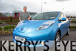 Ray Norris with his Nissan Leaf