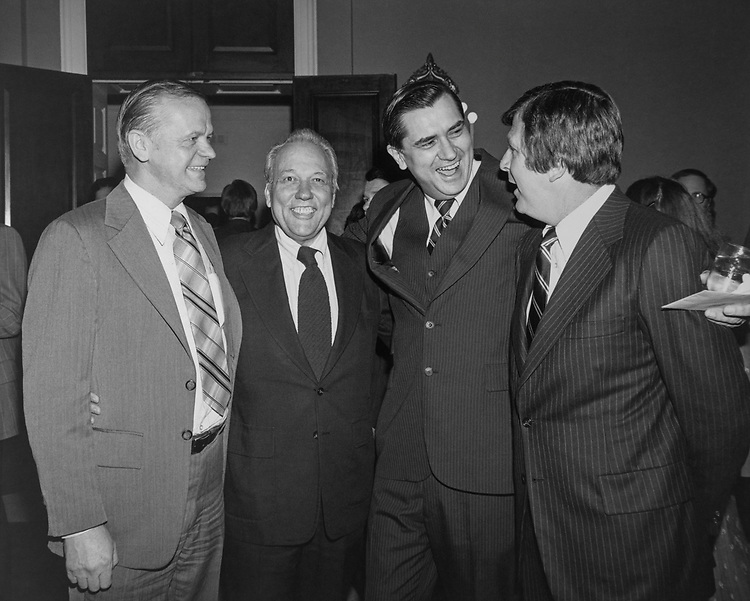Congressional aide Hyde Murray along with his party member at Rayburn House Office Building. (Photo by CQ Roll Call via Getty Images)