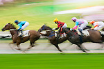 HONG KONG - MAY 04:  Riders compete during The Queen Mother Memorial Cup at Sha Tin racecourse on May 4, 2014 in Hong Kong, Hong Kong.  Photo by Aitor Alcalde / Power Sport Images