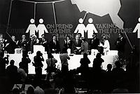 FILE PHOTO -  <br /> <br /> Congres du Nouveau Parti Democratique du Canada, le 15 mars 1987.<br /> <br /> <br /> Photo  :  Denis Alix - Agence Quebec Presse