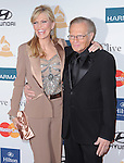 Shawn Southwick and Larry King attends the Annual Clive Davis & The Recording Company Pre-Grammy Gala held at The Beverly Hilton in Beverly Hills, California on February 11,2011                                                                               © 2012 DVS / Hollywood Press Agency