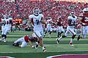 10 Sept 2011: Devon Wylie #7 of the Fresno State Bulldogs returns a punt for a touchdown against the Nebraska Cornhuskers in the first quarter at Memorial Stadium in Lincoln, Nebraska. Nebraska defeated Fresno State 42 to 29.
