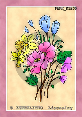 Kris, FLOWERS, paintings, PLKKK1209,#f#