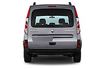 Straight rear view of a 2013 - 2014 Renault Kangoo eXtrem Mini MPV.