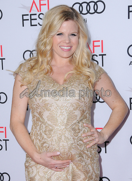 """10 November 2016 - Hollywood, California. Megan Hilty. AFI FEST 2016 - Opening Night Premiere Of """"Rules Don't Apply"""" held at TCL Chinese Theater. Photo Credit: Birdie Thompson/AdMedia"""