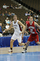 18 March 2006: Morgan Clyburn during Stanford's 72-45 win over Southeast Missouri State in the first round of the NCAA Women's Basketball championships at the Pepsi Center in Denver, CO.