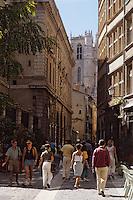 Europe/France/Rhône-Alpes/69/Rhône/Lyon: Vieux Lyon - La rue Saint-Jean