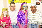 HARVEST FUN: Having a fun time at the International Resource Centre, St Patrick's Bungalows, Tralee on Friday l-r: Brid Doyle O'Brien, Mourad Laidani, Anna O'Brien and Guihini Hamid.