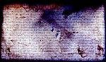 A typed script