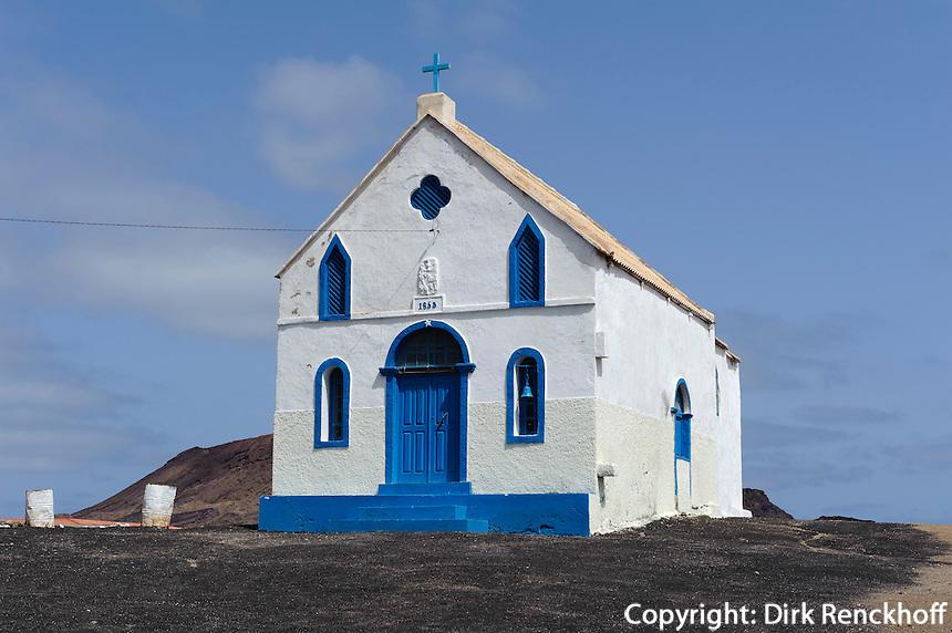 Kirche von Pedra de Lume, Sal, Kapverden, Afrika