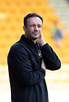 St Johnstone v East Fife…14.07.18…  McDiarmid Park    League Cup<br />East Fife manager Darren Young<br />Picture by Graeme Hart. <br />Copyright Perthshire Picture Agency<br />Tel: 01738 623350  Mobile: 07990 594431