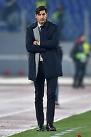 Paulo Fonseca AS Roma <br /> Roma 12-12-2019 Stadio Olimpico <br /> Football Europa League 2019/2020 Group J <br /> AS Roma -  Wolfsberger AC <br /> Photo Antonietta Baldassarre / Insidefoto