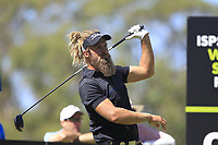 Jack Wilson (AUS) in action on the 9th during Round 2 of the ISPS Handa World Super 6 Perth at Lake Karrinyup Country Club on the Friday 9th February 2018.<br /> Picture:  Thos Caffrey / www.golffile.ie<br /> <br /> All photo usage must carry mandatory copyright credit (&copy; Golffile | Thos Caffrey)