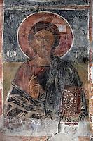 BG61218.JPG BULGARIA, BLACK SEA COAST, NESSEBAR, CHURCH OF ST STEPHAN, 10TH CENTURY, FRESCOS