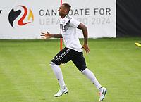 Jerome Boateng (Deutschland Germany) im Lauftraining - 31.05.2018: Training der Deutschen Nationalmannschaft zur WM-Vorbereitung in der Sportzone Rungg in Eppan/Südtirol