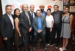 The 'Ernest Shackleton Loves Me' Family attends the 7th Annual Off Broadway Alliance Awards at Sardi's on June 20, 2017 in New York City.