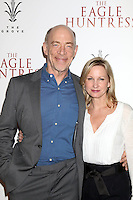 """LOS ANGELES, CA - OCTOBER 18: J. K. Simmons, Michelle Schumacher at the """"The Eagle Huntress"""" Premiere at the Pacific Theaters at the Grove, Los Angeles, California on October 18, 2016.  Credit: David Edwards/MediaPunch"""