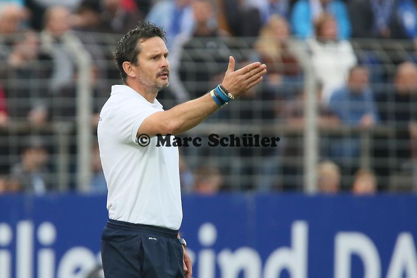 Trainer Dirk Schuster (SV 98) - SV Darmstadt 98 vs. FSV Frankfurt, Stadion am Boellenfalltor