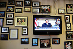 A shot of Hyden, Kent., Mayor Lonnie Hendrix's wall in his office. Photo by Leah Klafczynski