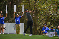 Brooks Koepka (USA) watches his tee shot on 16 during round 3 of the World Golf Championships, Mexico, Club De Golf Chapultepec, Mexico City, Mexico. 2/23/2019.<br /> Picture: Golffile | Ken Murray<br /> <br /> <br /> All photo usage must carry mandatory copyright credit (© Golffile | Ken Murray)